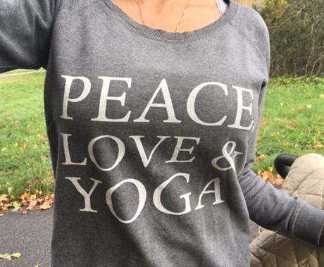 PeaceLoveYogatröja