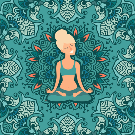 Yogagirlpranayama